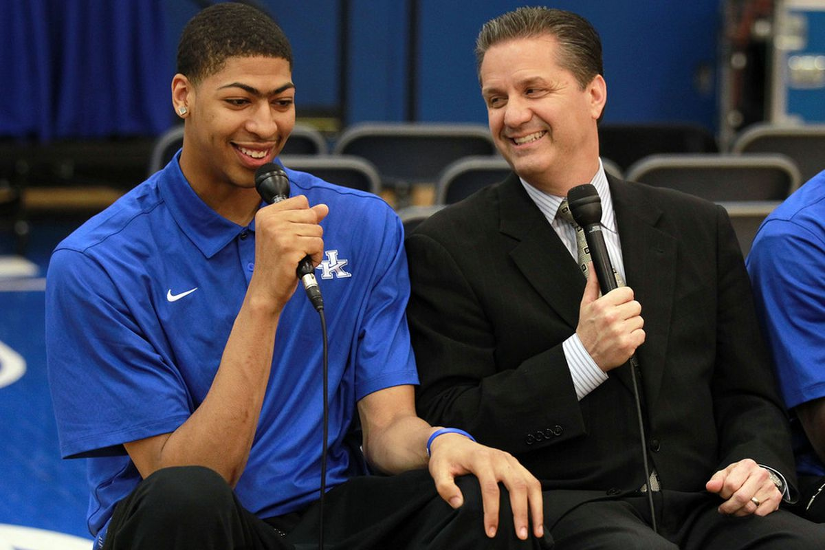 Could Coach Cal have found yet another Anthony Davis?