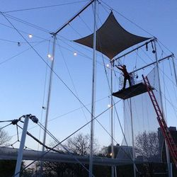"""For the daring (or circus-loving) group of girlfriends, <a href=""""http://chicago.trapezeschool.com/"""">Trapeze School New York—Chicago</a> [3158 North Lakefront Trail] can offer custom classes for bachelorette parties. Instructors show brand-new and experien"""