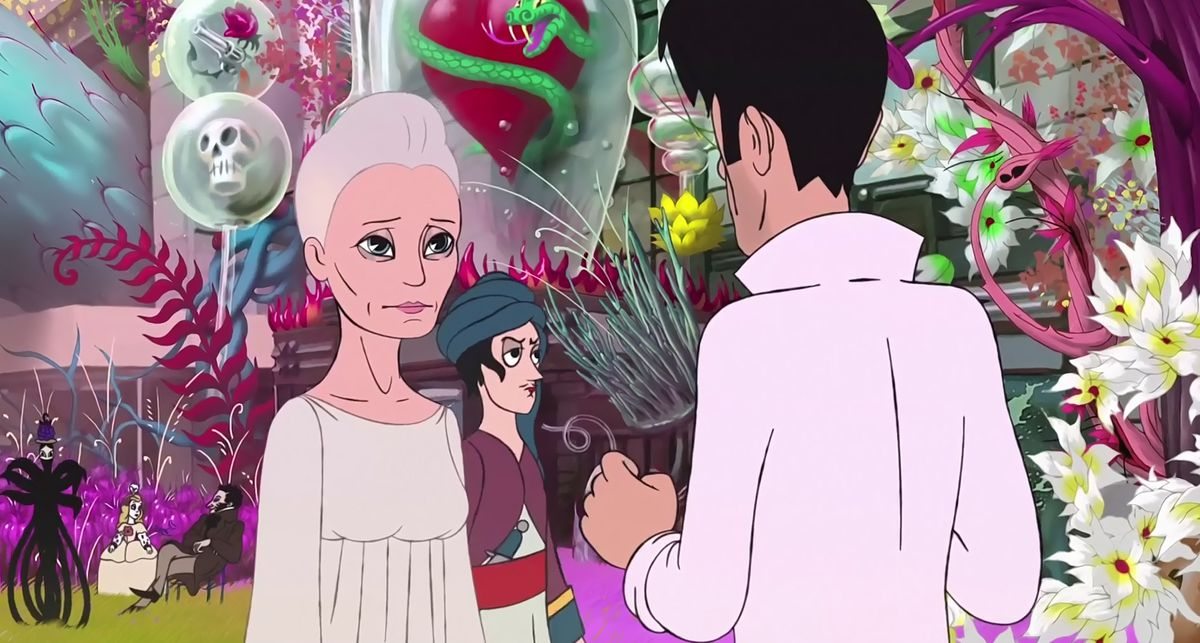 The Congress: Animated Robin Wright in the afterlife with Elvis