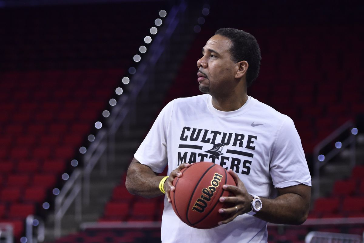 Ed Cooley preps for tonight's matchup against USC.