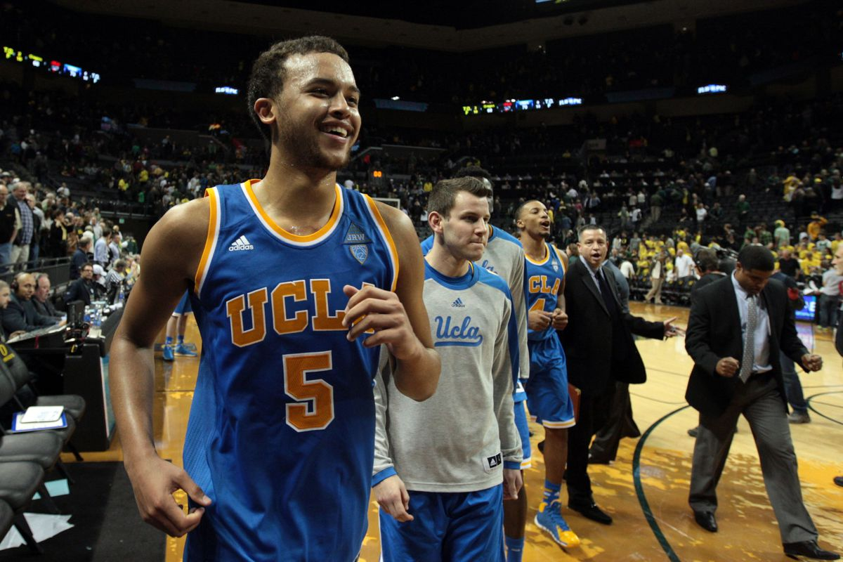 Kyle Anderson leaves UCLA fans smiling.