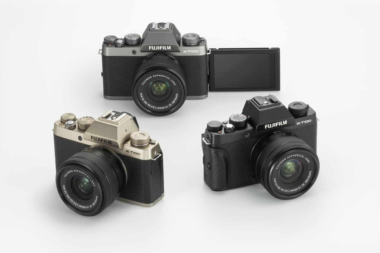 fujifilm announces new x t100 mirrorless camera for 599