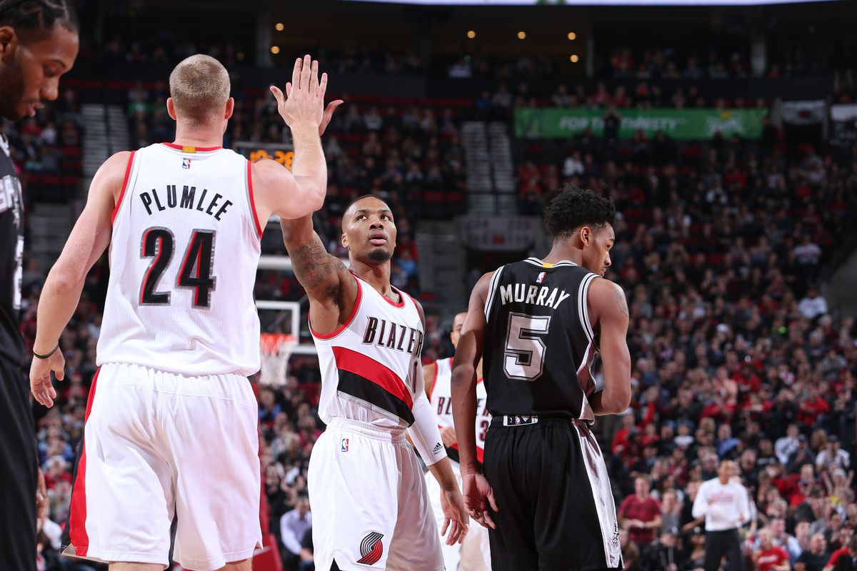 NBA All-Star Voting: Damian Lillard in Middle of the Pack ...