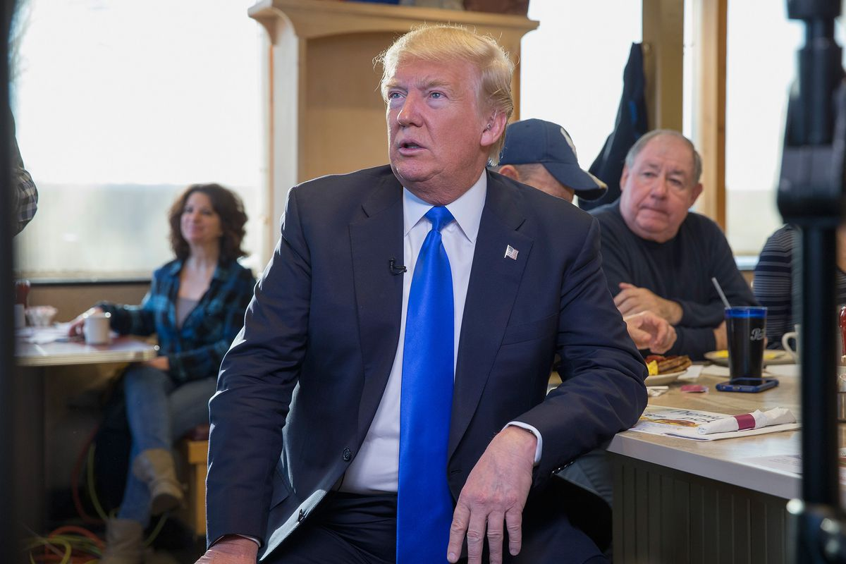 GOP Presidential Candidate Donald Trump Campaigns In Wisconsin On Day Of State's Primary