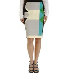 """<a href=""""http://www.barneyswarehouse.com/on/demandware.store/Sites-BNYWS-Site/default/Product-Show?pid=501635132&cgid=womens-clothing&index=3""""><b>10 Crosby</b> Pencil Skirt</a>, $129 (was $325)"""