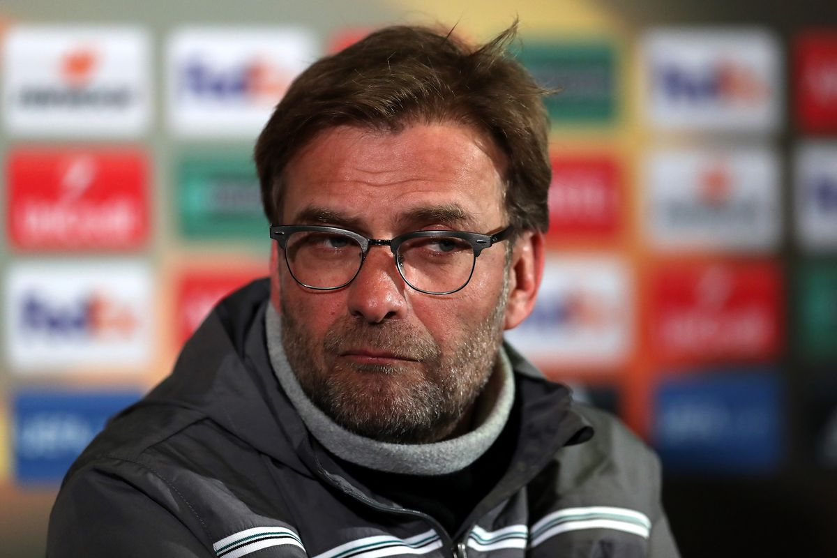 Our expression when Dejan Lovren started playing well.