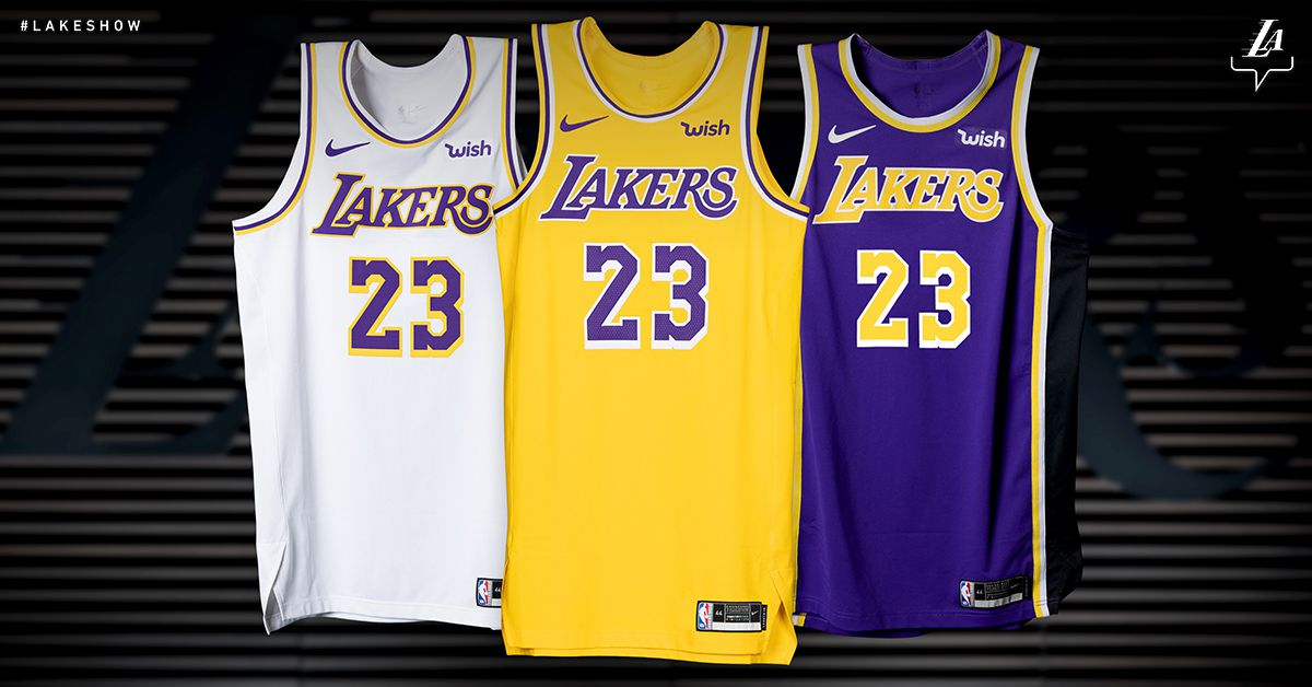 Lakers unveil new, Showtime inspired Nike jerseys - Silver ...Lakers Jersey