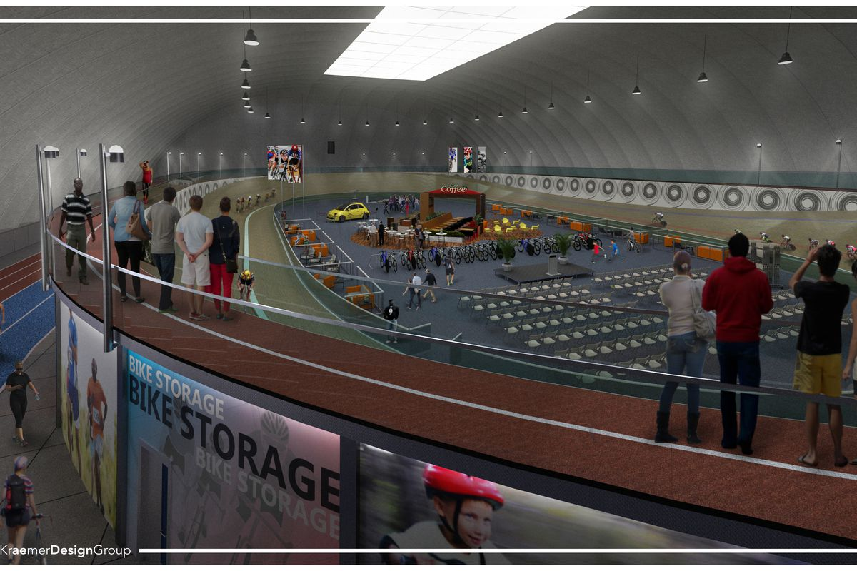 An Indoor Multi Sport Complex With Velodrome Is Coming To