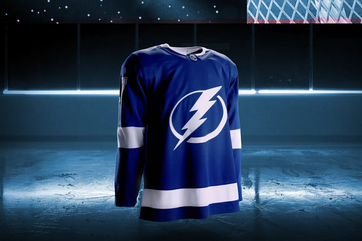NHL and Adidas debut new Tampa Bay Lightning jerseys - Raw Charge 1bfa94577