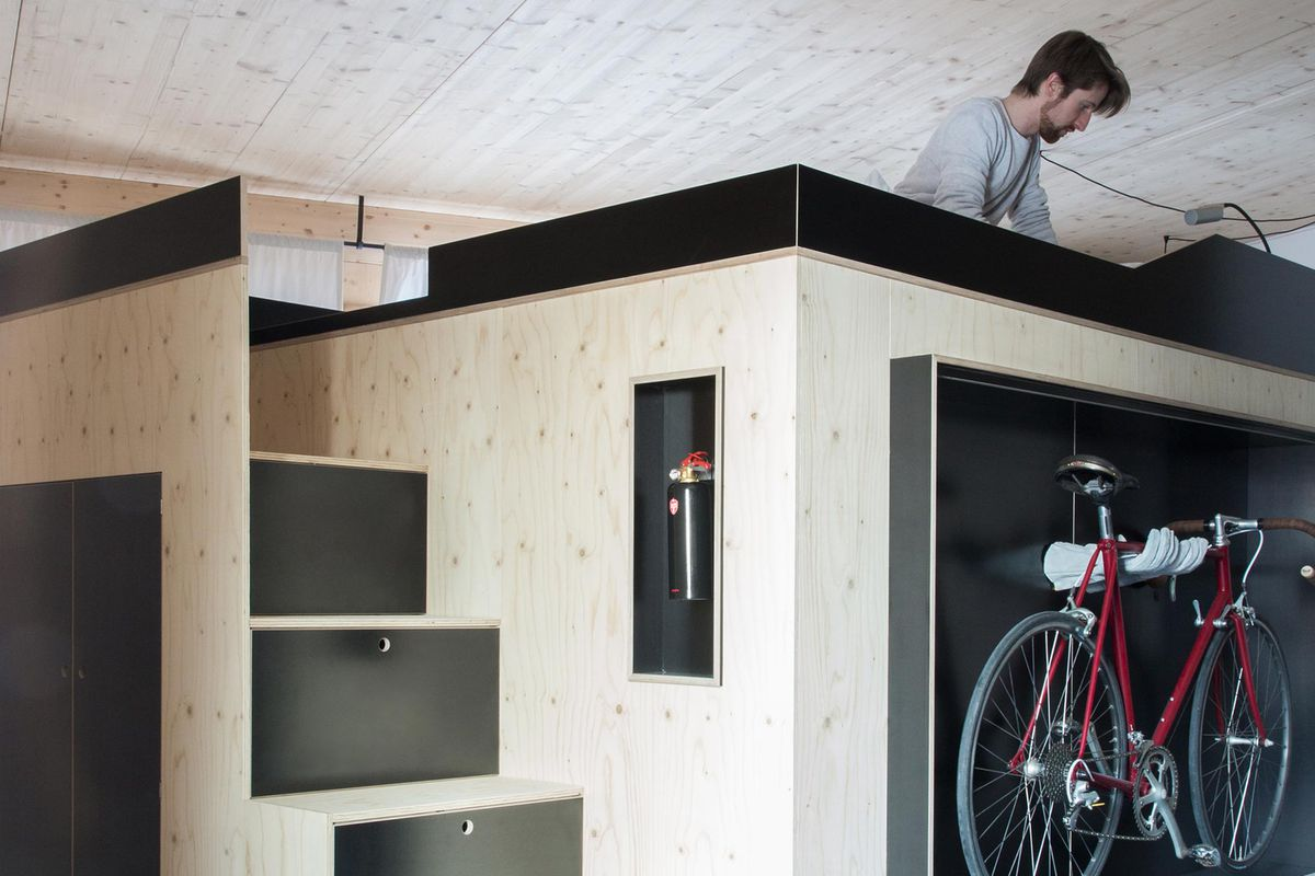 All In One Furniture Cube Is Perfect For Micro Apartments