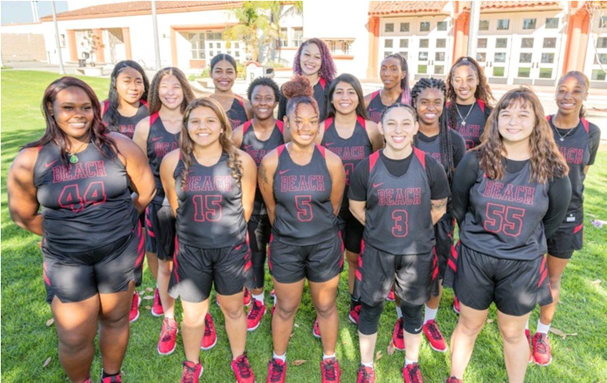 Long Beach City College women's basketball team