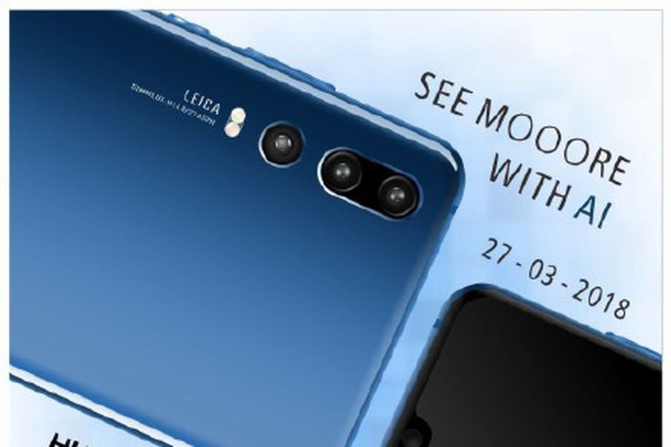 new leaks show a three lens ai camera on huawei s upcoming p20 flagship
