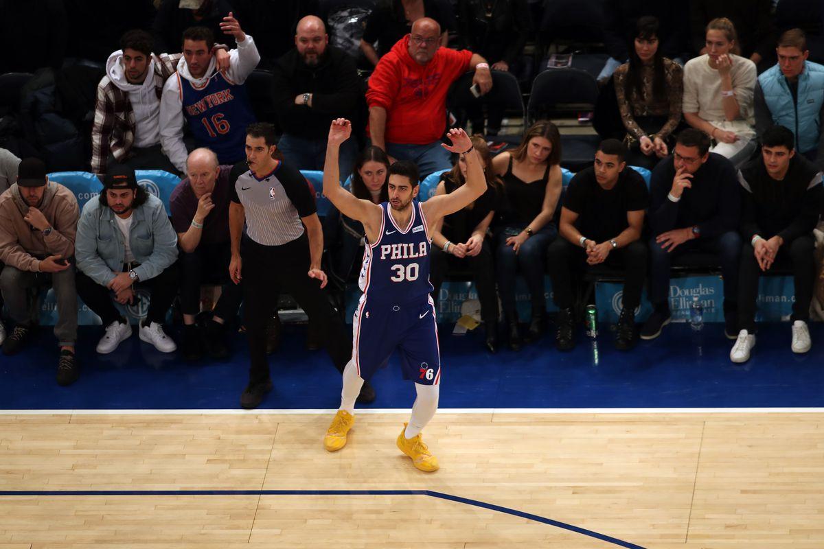NBA: NY Knicks vs Philadelphia 76ers