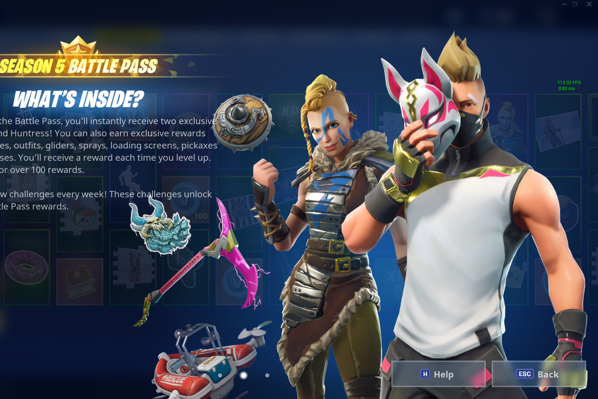 Fortnite Season 5 Skins Challenges And News Polygon
