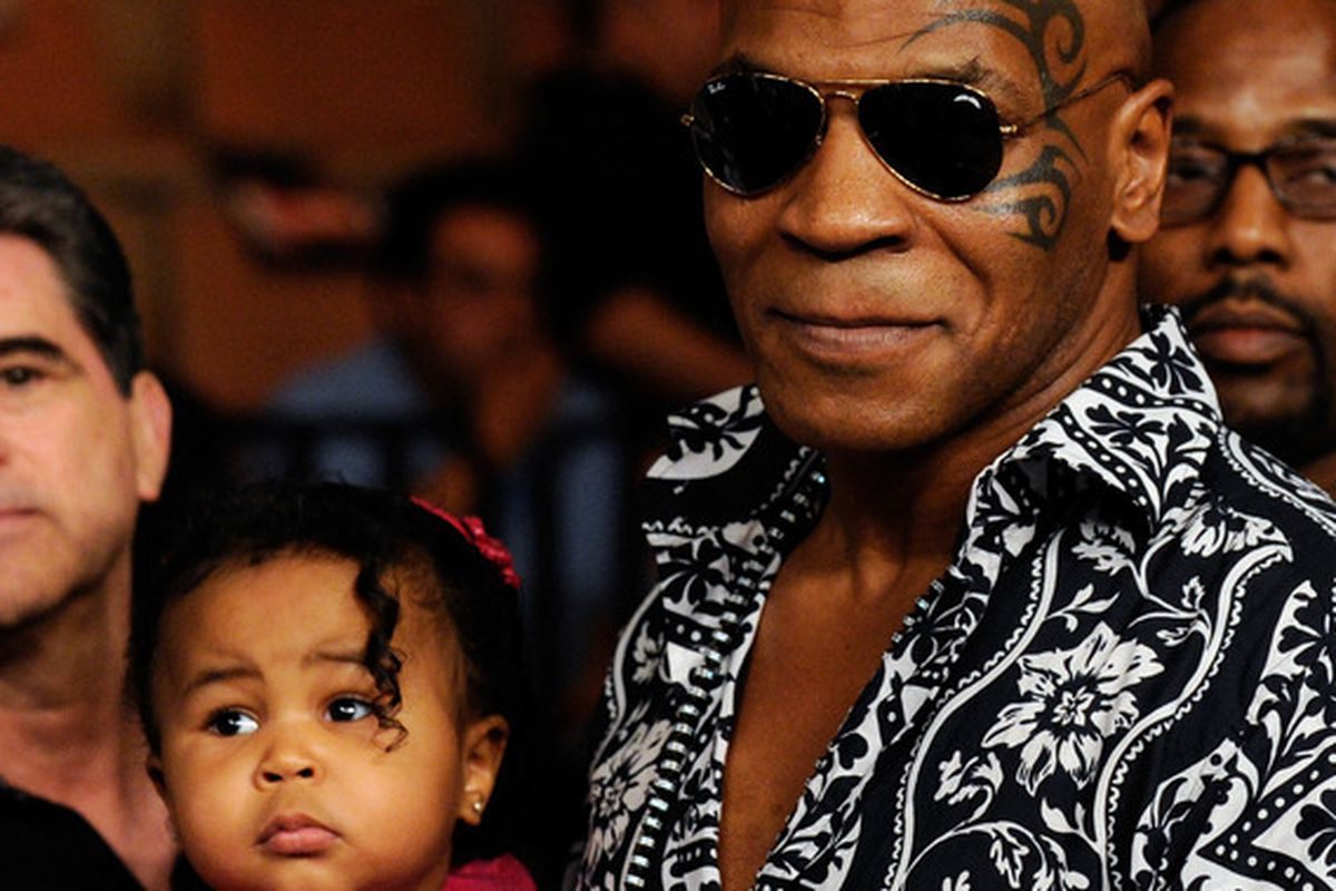 Mike Tyson: Honorary SBL captain.