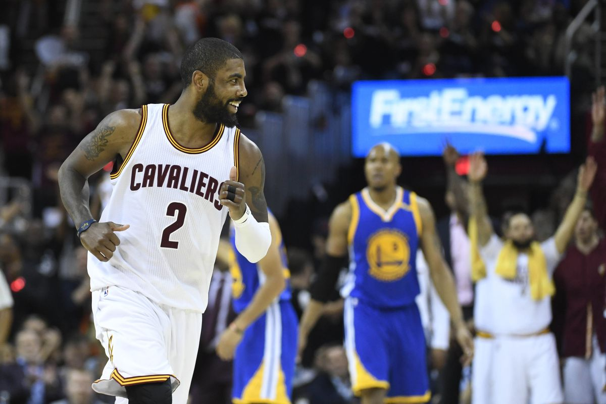 Cavs' Kyrie Irving Surprises Dad with Home Renovation class=