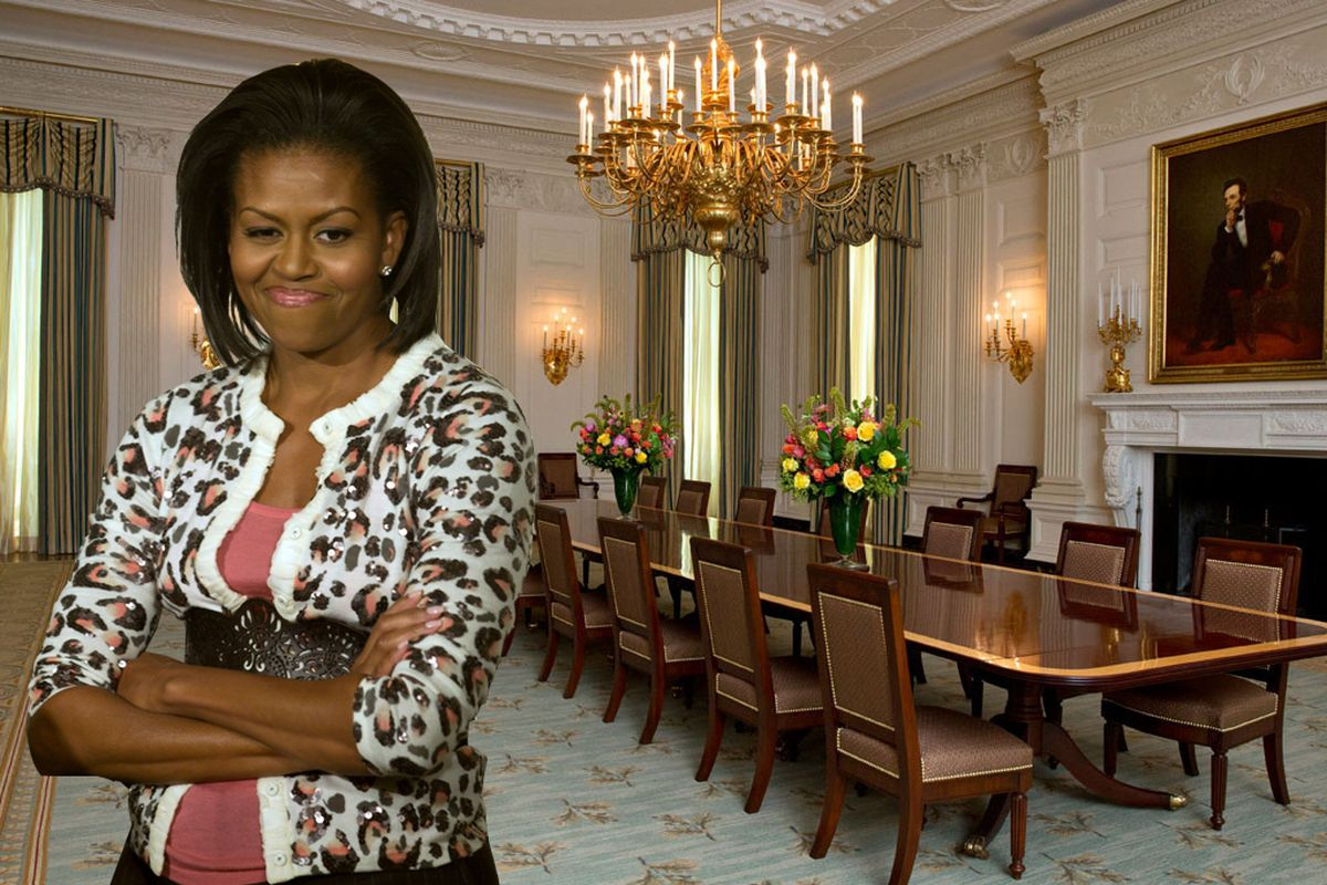 Michelle Obama Unveils Revamped White House Dining Room Curbed Dc,Dracula Castle Inside Halloween Dracula Castle Inside Transylvania