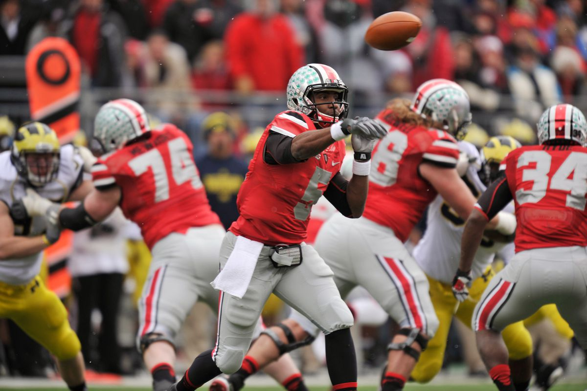 Ohio State's Braxton Miller is not a 2012 Heisman Trophy finalist.