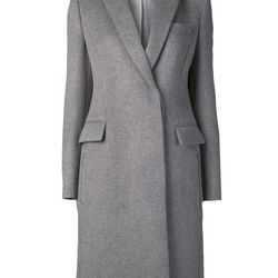 """Stella McCartney coat with zip side pockets, <a href=""""http://www.kirnazabete.com/sale-113/jackets/coat-with-zip-side-pockets"""">$828</a> (was $2,070) at Kirna Zabete"""