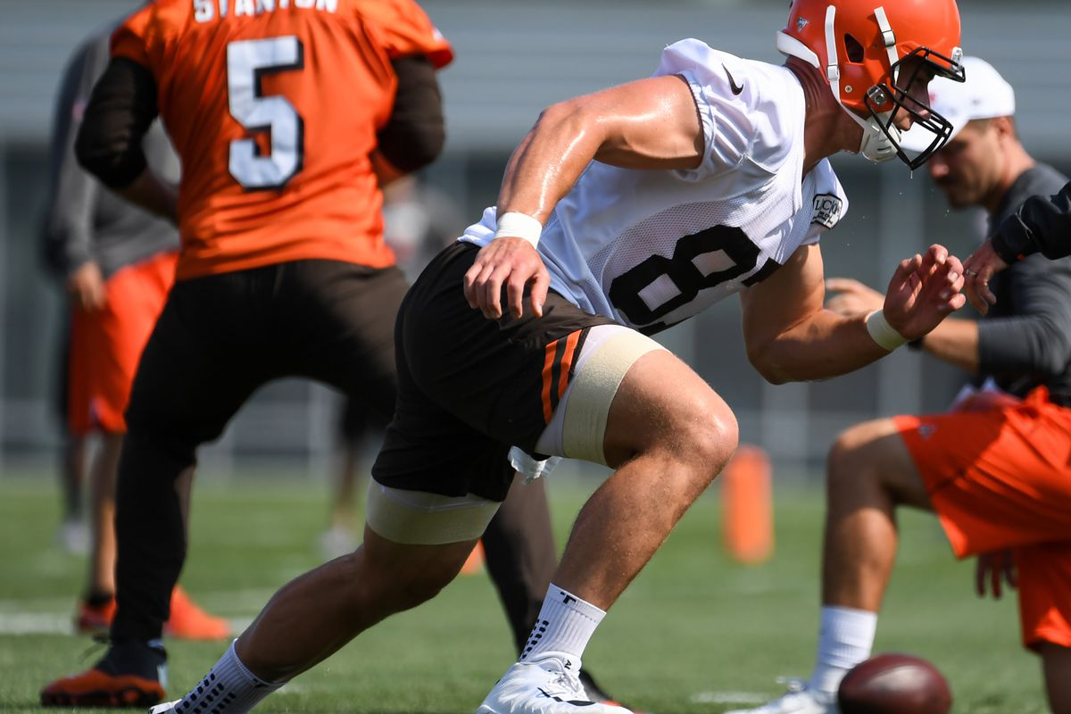 big sale e6e53 fc78d Cleveland Browns TE Seth DeValve knows his days may be ...