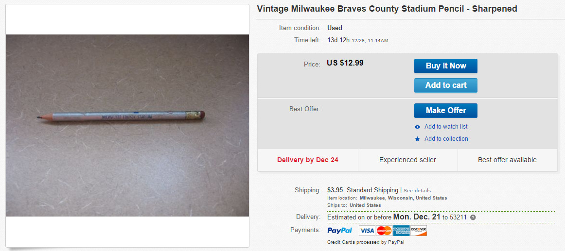 Brewers Pencil