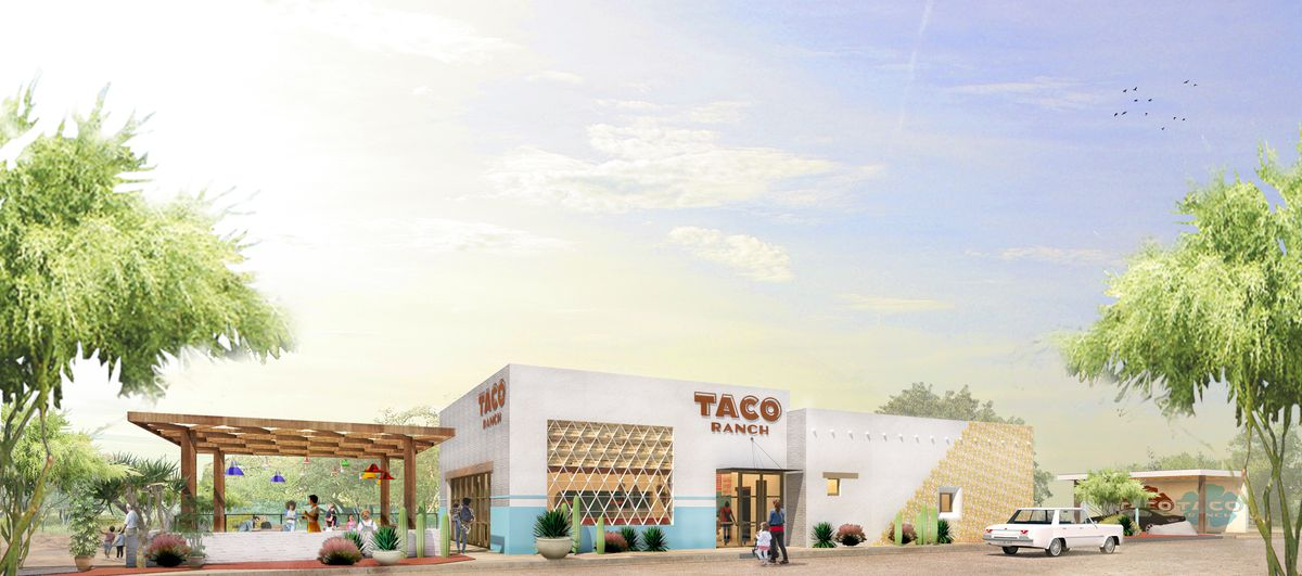 Rendering of Taco Ranch