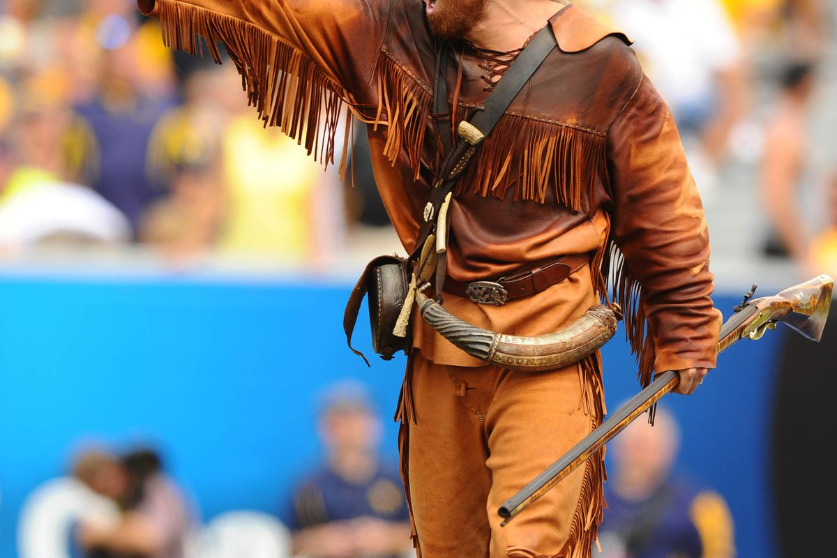 Perhaps the most intense Mountaineer mascot EVER