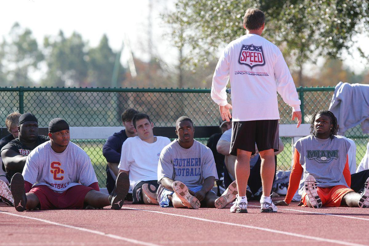 Football - NFL - Tom Shaw's Combine Speed Camp
