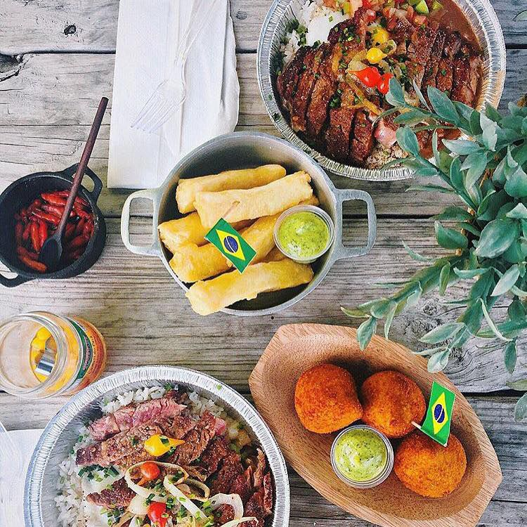 Dishes from Boteco