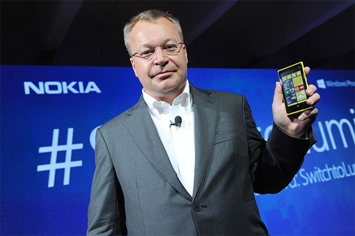 Stephen Elop Nokia CEO stock