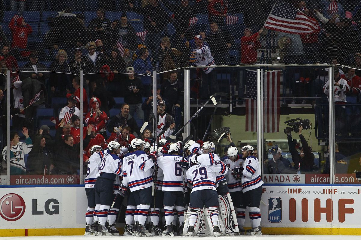 Buffalo in 2011 was the last US city to host the U-20 World Juniors.