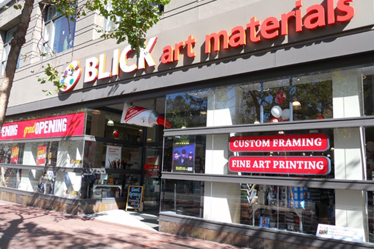 """Blick Art Materials on Market Street Photo: <a href=""""http://www.livesoma.com/2010/08/23/blick-art-materials/'"""">LiveSOMA</a>"""