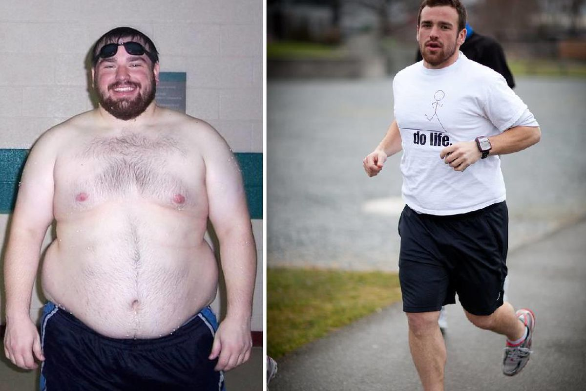 Ben Davis lost 120 lbs. and completed his first marathon in a year and a half.