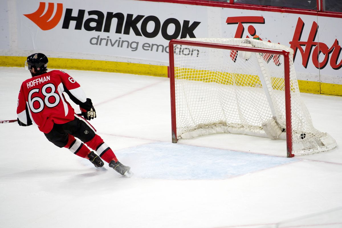 Cool, calm, collected: Mike Hoffman emulates the Ottawa Senators' current mantra