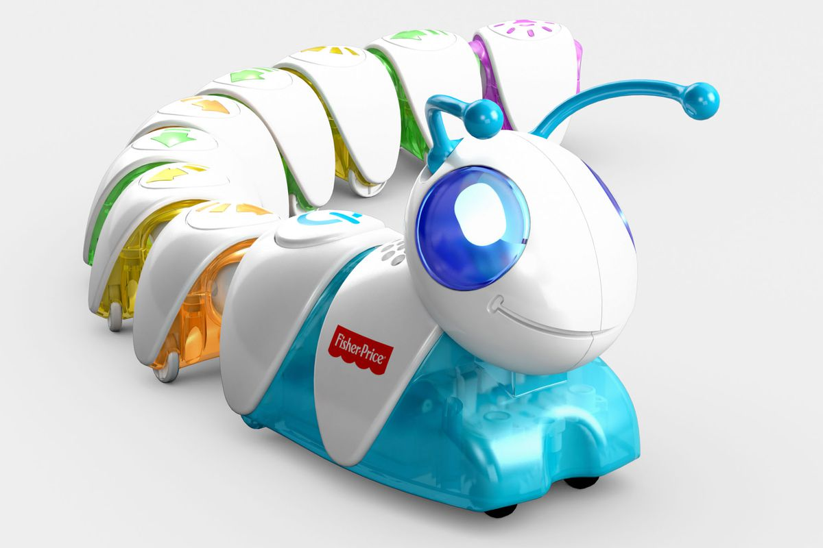 Fisher Price Made A Caterpillar That Teaches Coding Basics To Lightup Electronic Blocks And Ar App Kids Circuitry Preschoolers