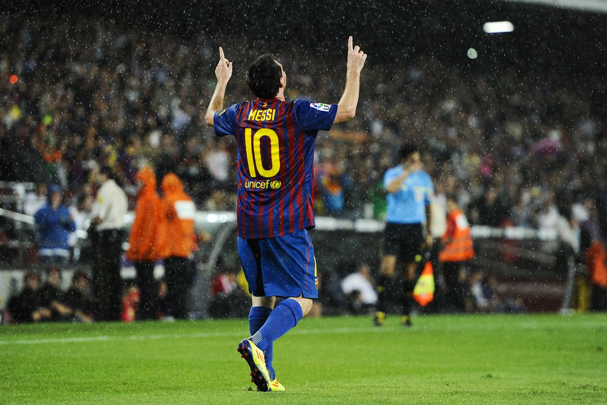 Messi was once more magnificent.