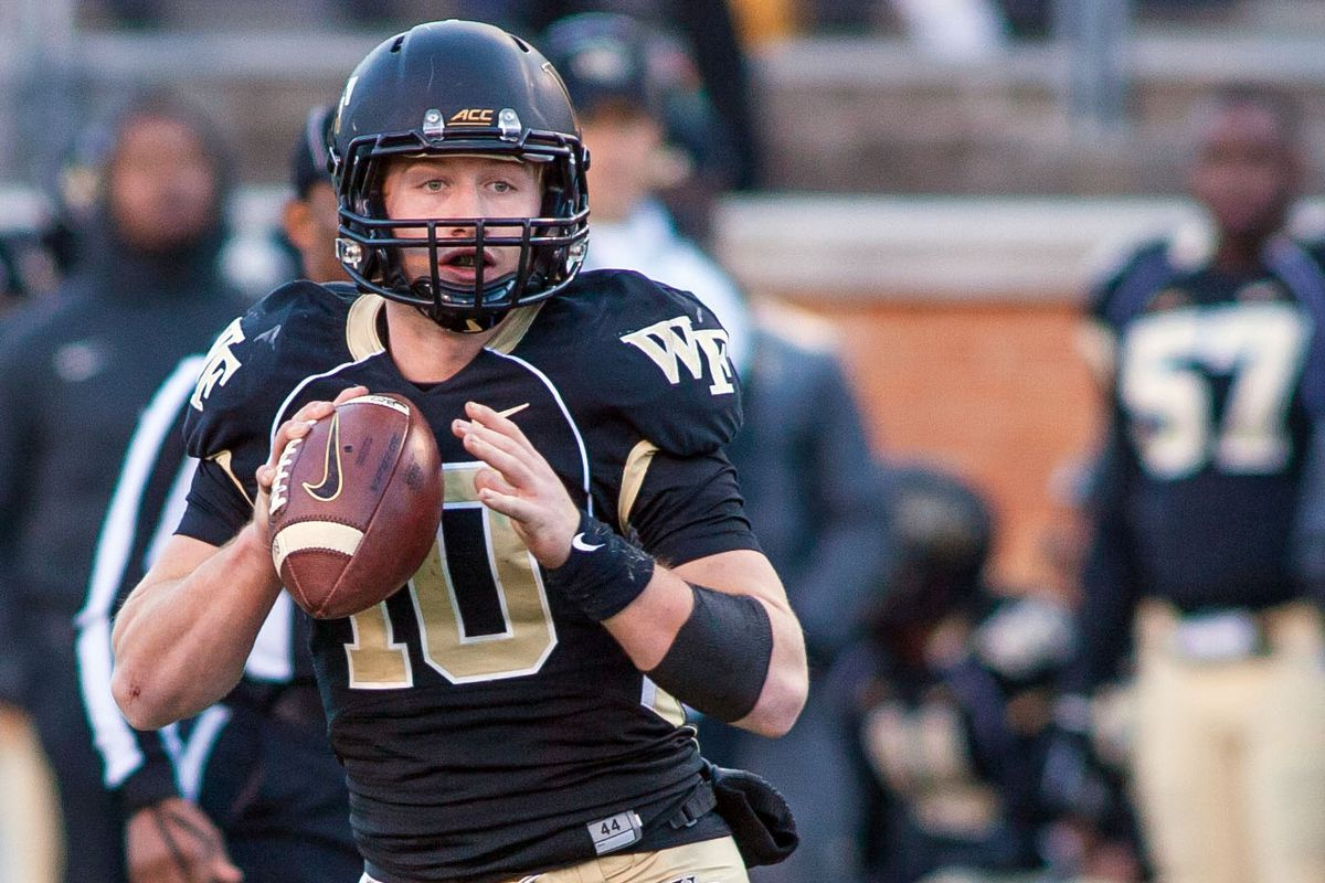 Share Projected Wake Forest Football Depth Chart Offense Tweet Reddit Pocket Flipboard Email Jeremy Brevard Usa Today Sports
