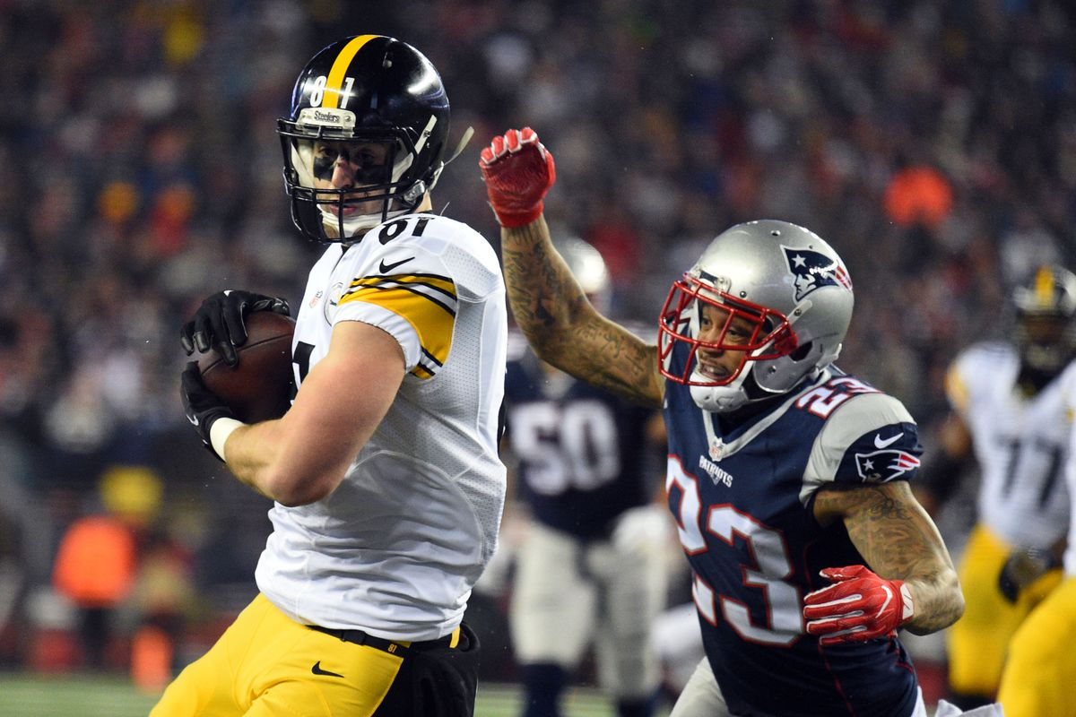 NFL: AFC Championship-Pittsburgh Steelers at New England Patriots