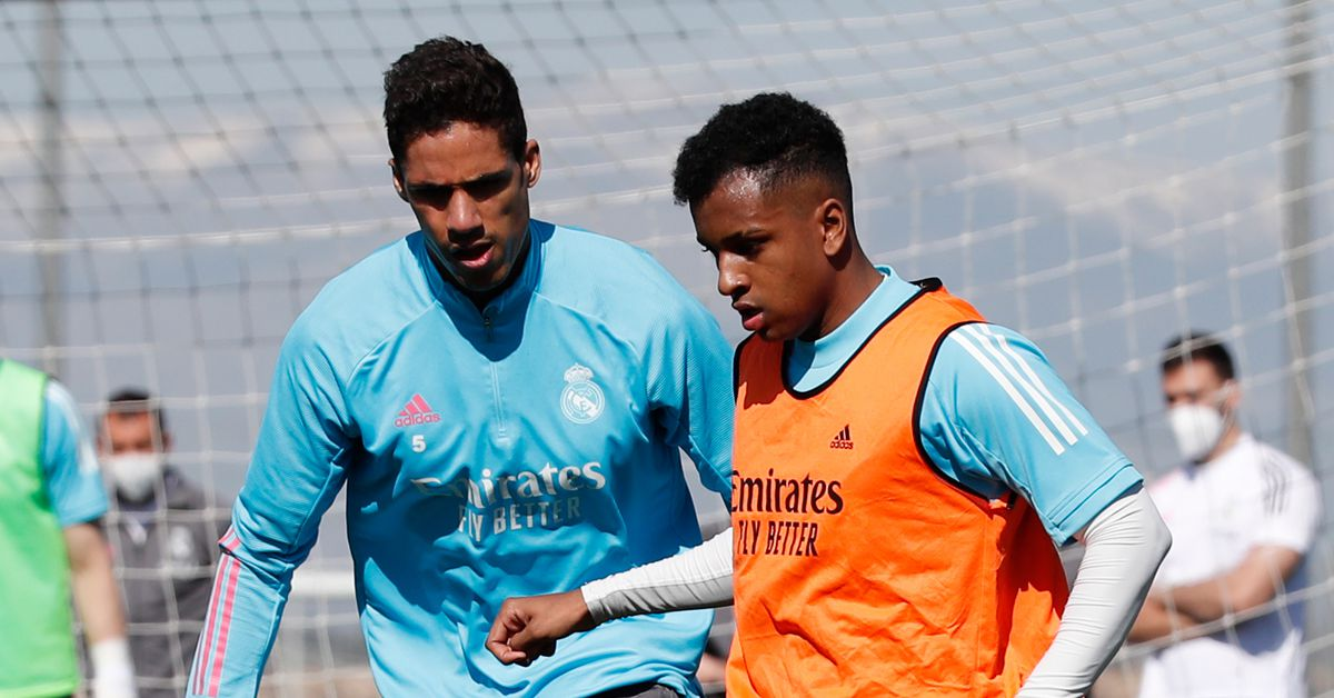 Rodrygo, Valverde, Odriozola and Marcelo rejoin Real Madrid squad in training - Managing Madrid