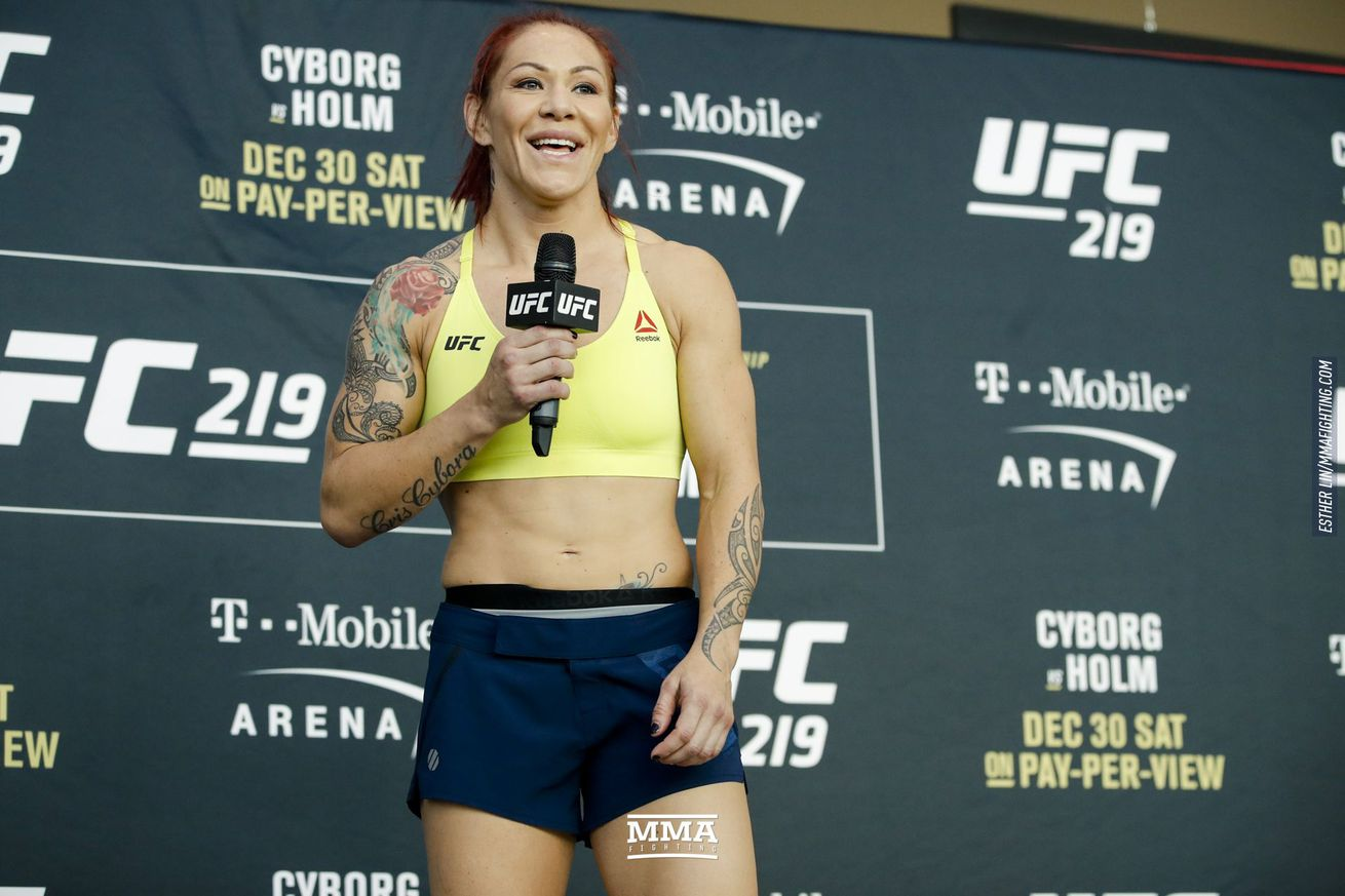 Cris Cyborg is expected to face Amanda Nunes in December.