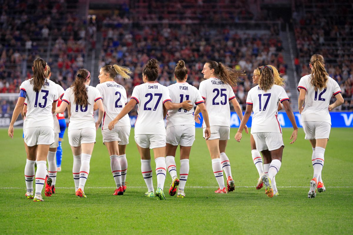SOCCER: SEP 21 Women's - USA v Paraguay