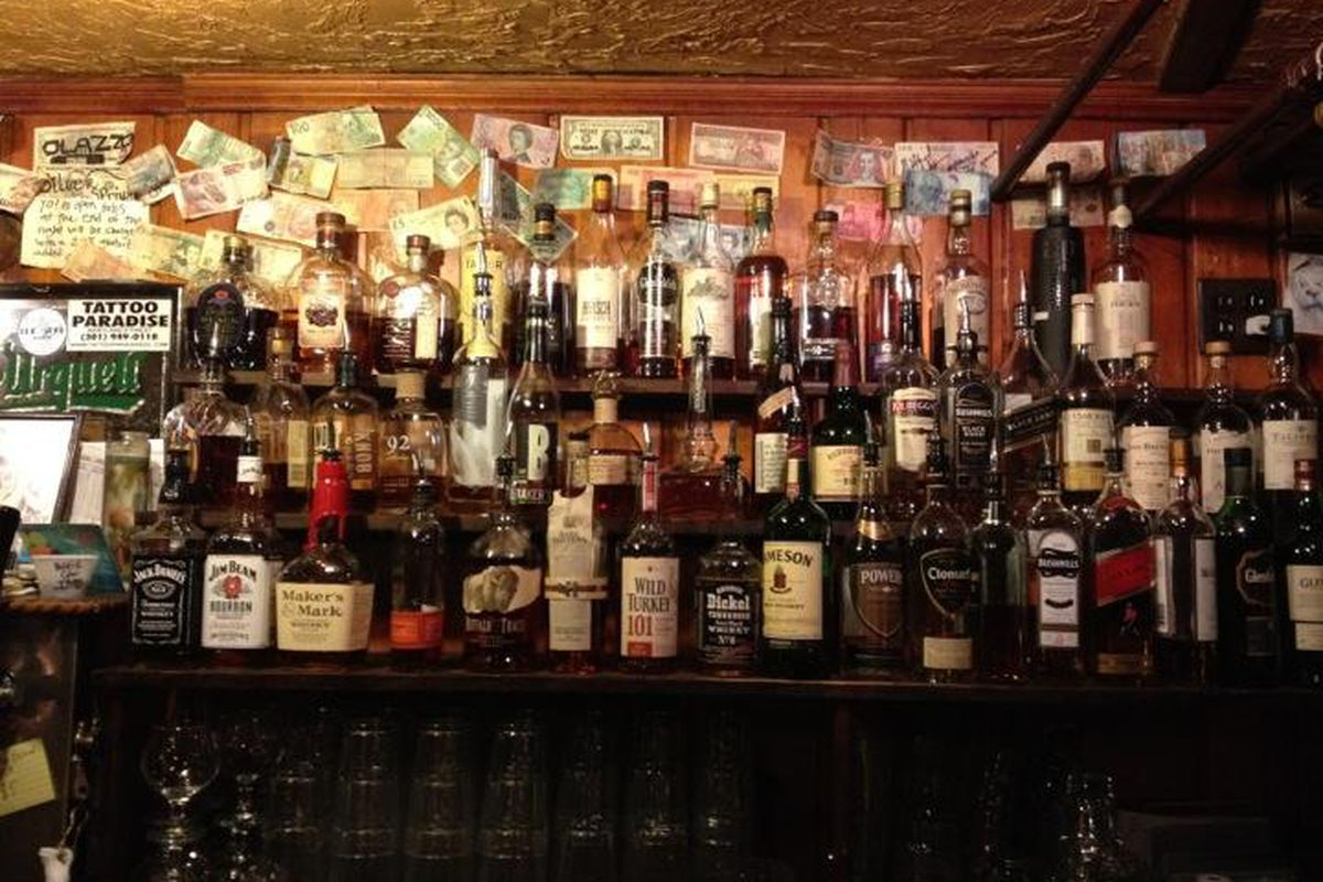 The bar at Quarry House