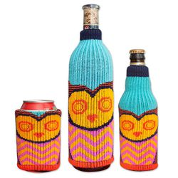 """Keep your cans and bottles chilly with these one-size-fits-all bottle insulators by <a href=""""http://www.flagladygifts.com/store/pc/Freaker-The-One-Size-Fits-All-Drink-Cover-Save-40-p22574.htm"""">The Freaker</a>, $6.57 at Wayne's Flag Lady Gifts."""