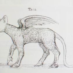 A concept sketch of Trico.
