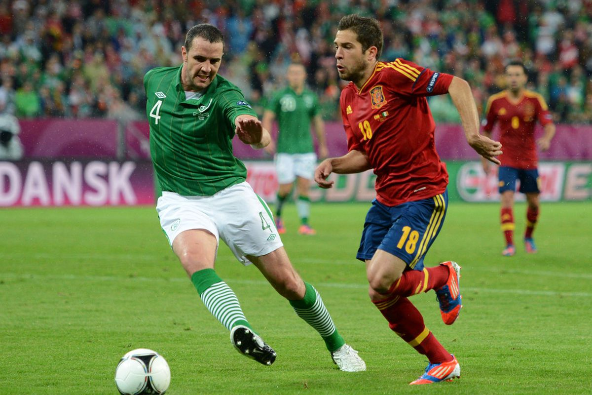 John O'Shea has been called up to the Ireland squad to face Serbia along with two other of his Sunderland teammates.