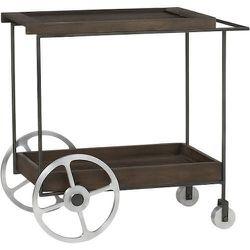 """<strong>CB2</strong> Porter Bar Cart, <a href=""""http://www.cb2.com/bar-accessories/dining/porter-bar-cart/s169099"""">$399</a>"""