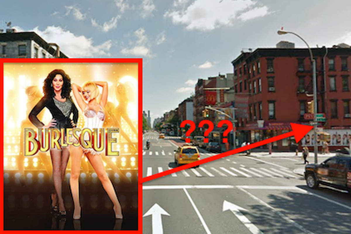 Burlesque, possibly near this intersection.