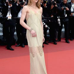 Vanessa Paradis at the premiere of 'The Unknown Girl.'