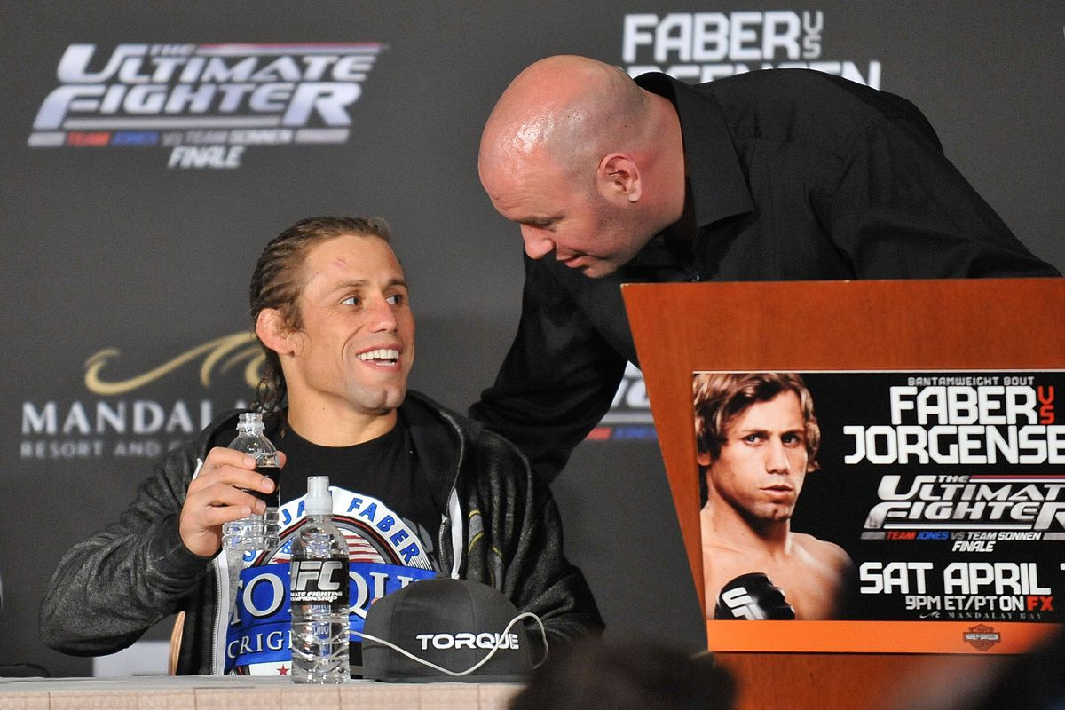 Dana White on the phone call that could have made Urijah Faber the biggest star on earth