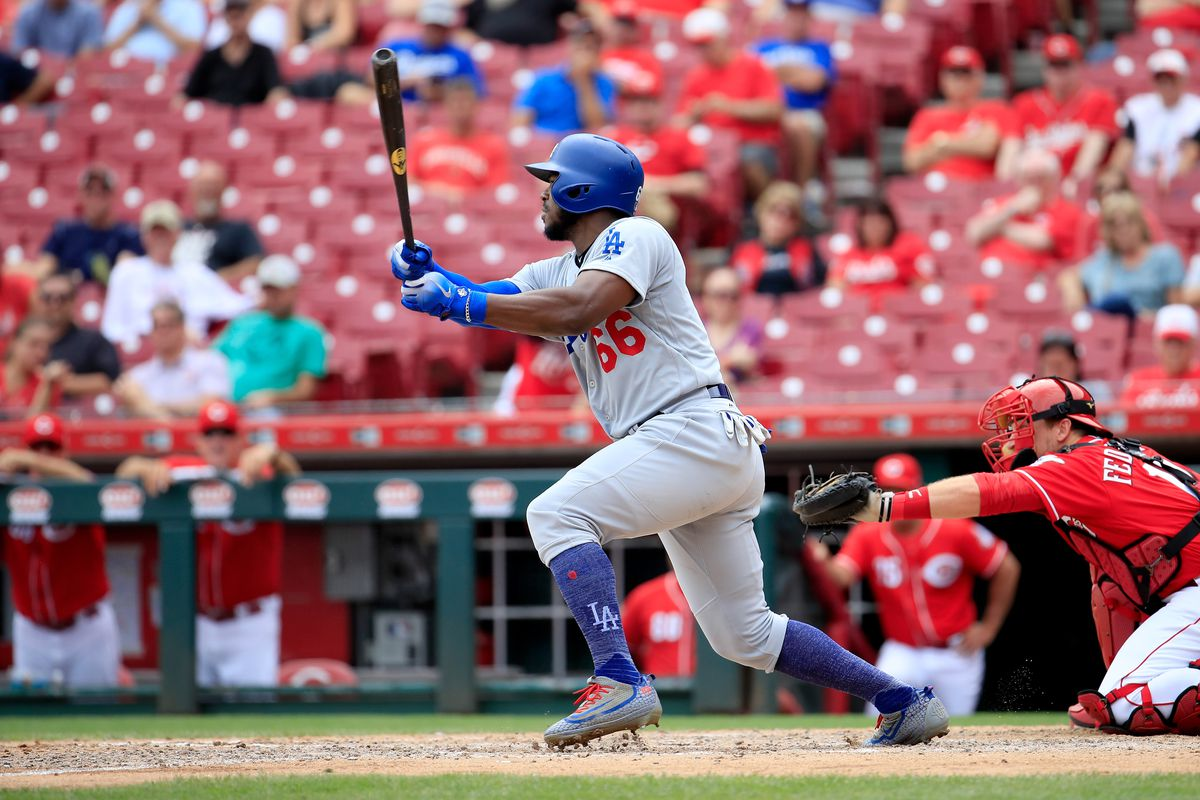 567213b6a3e The Reds got Yasiel Puig and Alex Wood from the Dodgers. Now what ...